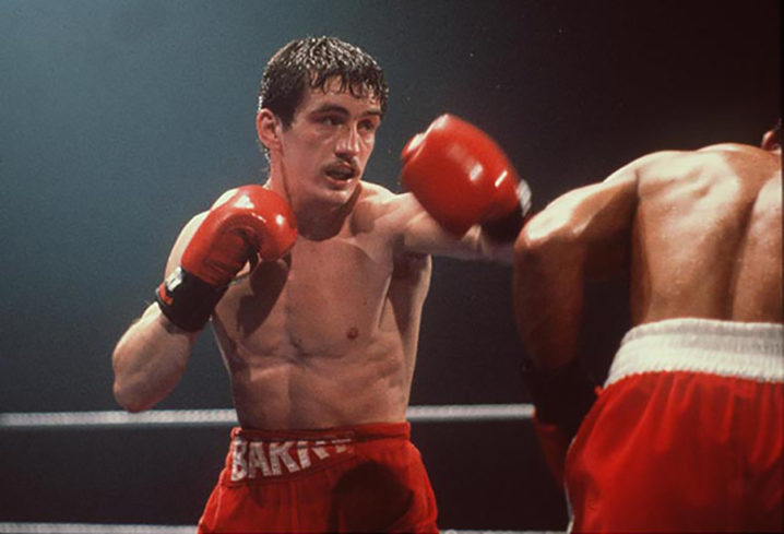 Barry McGuigan in action 1985