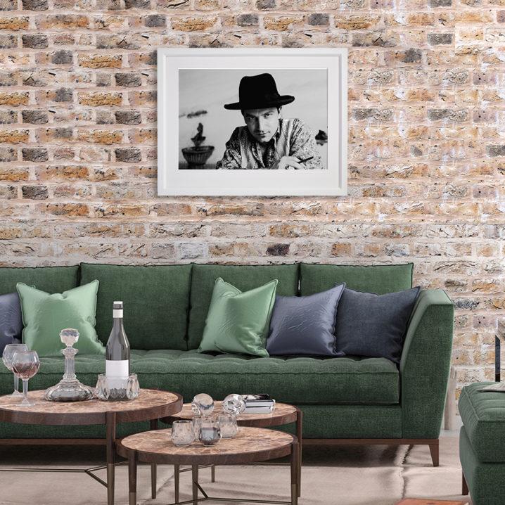 Bono Portrait 1989 in room setting