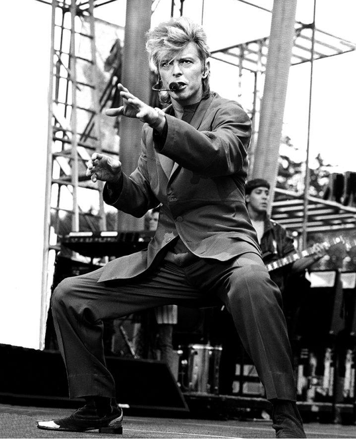 David Bowie performing his Glass Spider tour at Slane castle