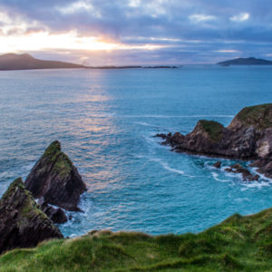 """Dunquin (native name Dún Chaoin meaning """"Caon's stronghold"""""""