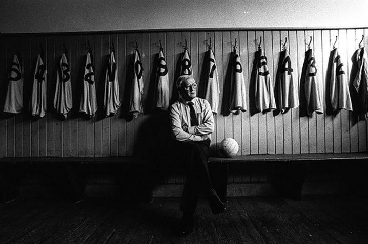 Dublin manager Kevin Heffernan