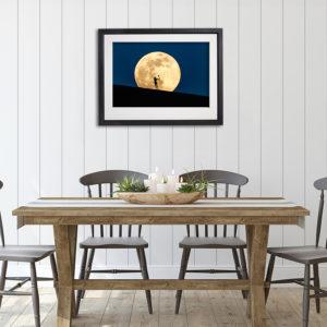 Super Moon Hurler in room setting