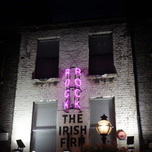 This cool Neon illuminates Capel Street and makes you look up and take note as you pass by.