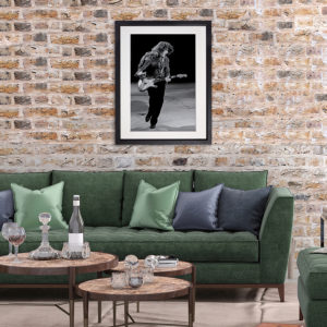 Rory Gallagher 3.Dublin 1984 in room setting