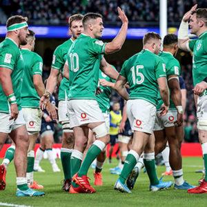 Ireland versus Scotland Six Nations Championship