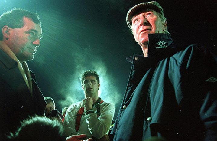 Jack Charlton RTE interview 1994