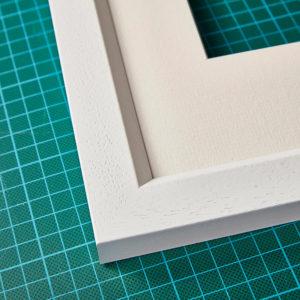 White Frame detail
