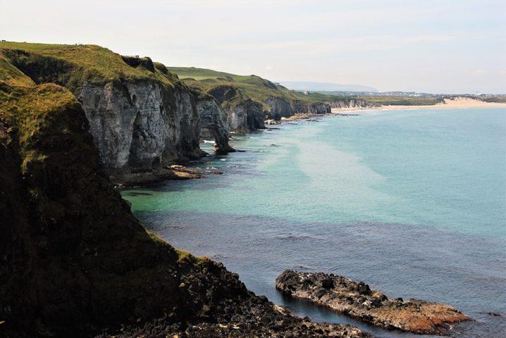 Impressive Cliffs on Antrim Coastline.