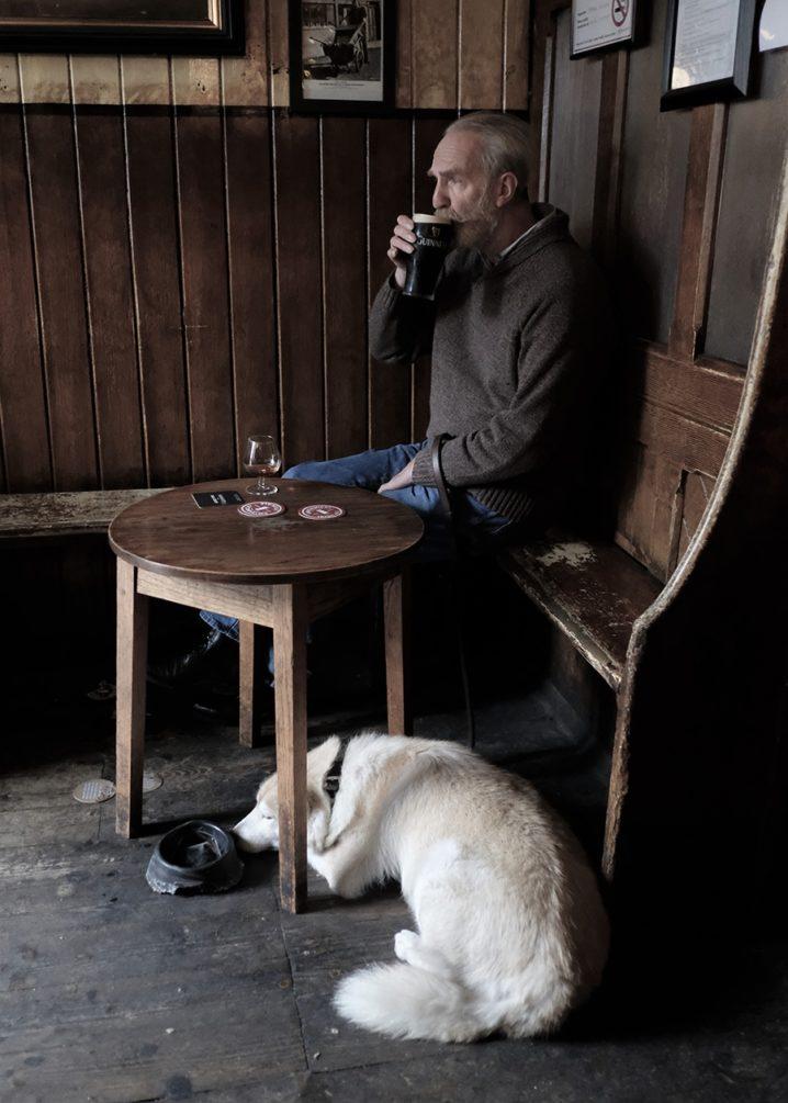 Best of Friends . A Dublin Pub moment
