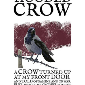 A4 or A3 print of the Hooded Crow