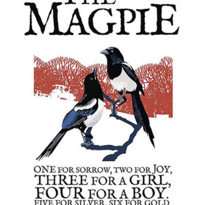 A4 or A3 print of the Magpie