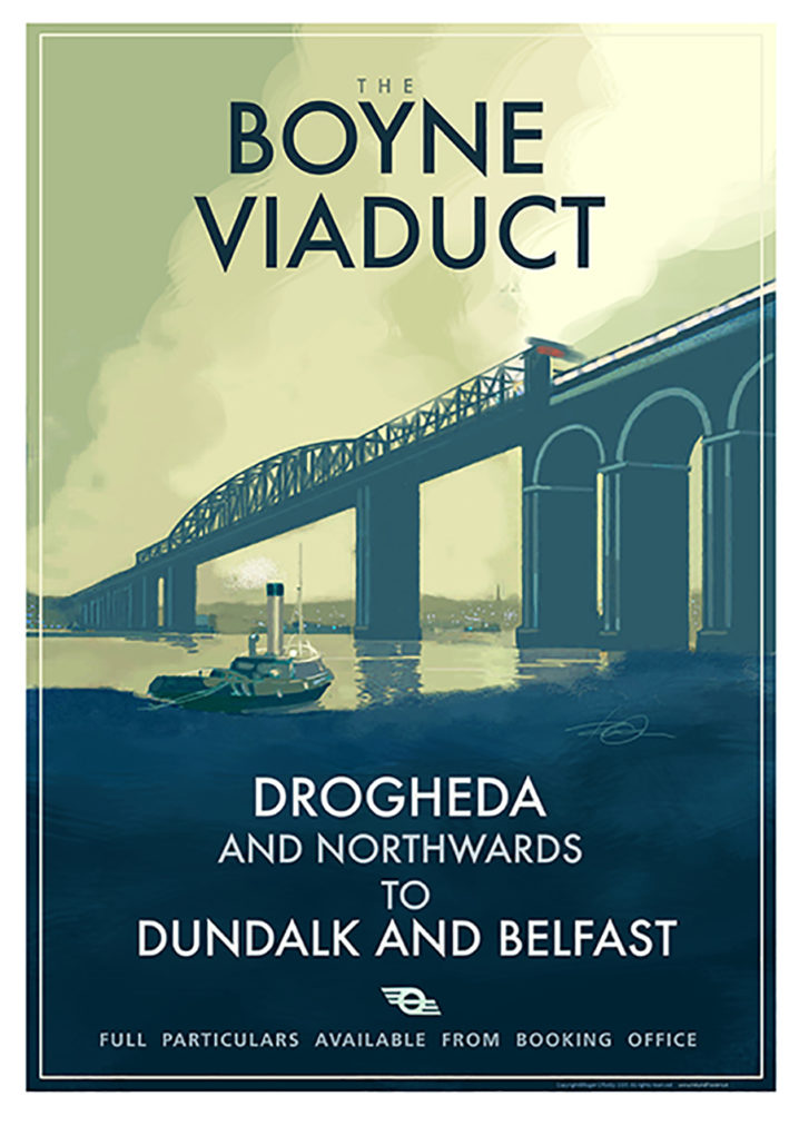 poster of the Boyne Viaduct at Drogheda.