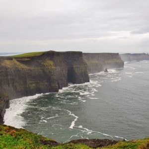 Cliffs of Moher in Storm