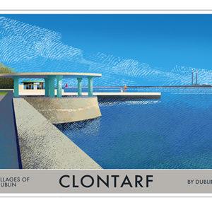 A4 or A3 Print of Clontarf- Villages of Dublin