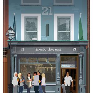 Irish Pubs Davy Byrnes