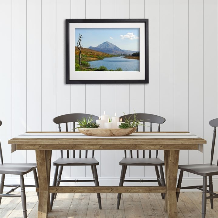 Donegal Mount Errigal in room setting
