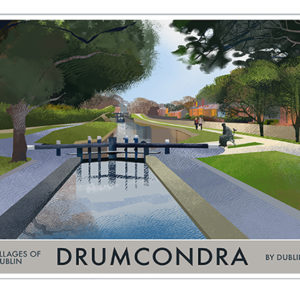 A4 or A3 Print of Drumcondra- Villages of Dublin