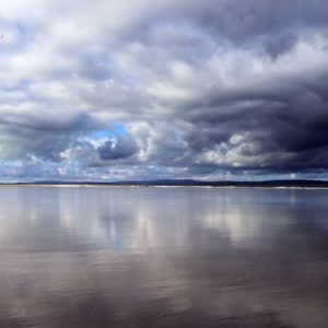 Enniscrone beach is one of the safest and tidiest beaches along the west coast of Ireland.
