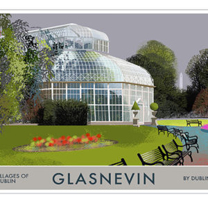 A4 or A3 Print of Glasnevin- Villages of Dublin