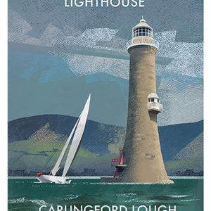 Hawlbowline Lightouse Co. Down