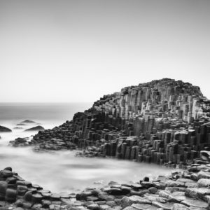 This is a fine art photograph of The Giants Causeway in Co. Antrim in Northern Ireland.