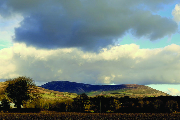 Keadeen is one of the least known and least hiked mountains in Wicklow