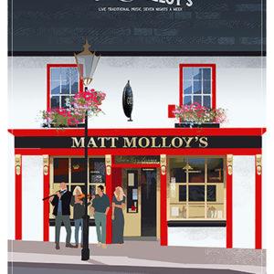 Irish Pubs Matt Molloy's Westport
