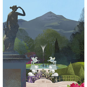 Poster of Powerscourt Estate and Gardens