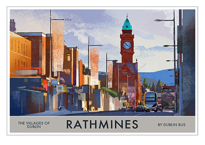 A4 or A3 Print of Rathmines - Villages of Dublin
