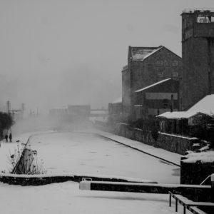 Shandon Mills in Snow Dublin