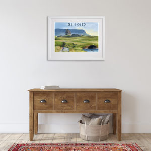 Sligo - Featuring Classiebawn and Benbulben in room setting