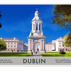 A4 or A3 Print of Dublin- Villages of Dublin
