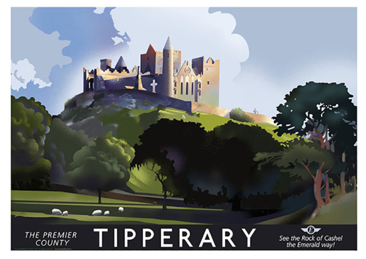 Co. Tipperary and the Rock of Cashel
