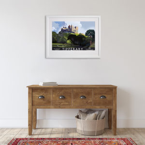 Co.Tipperary and the Rock of Cashel in room setting