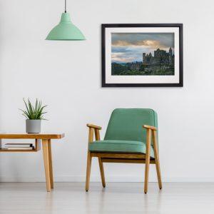 Rock of Cashel in room setting