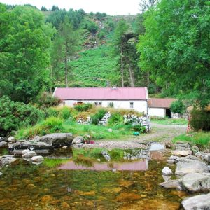 Cottage at base of Lugnaquilla Wicklow