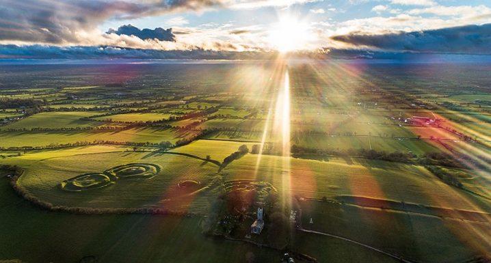 Tara Hill aerial view