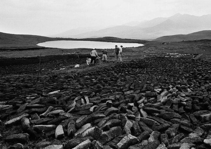 Turf Cutting West of Ireland